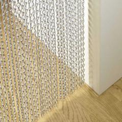 Cortina antimoscas Kriska para la decoración de espacios interiores
