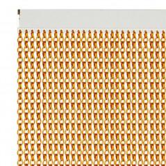 Cortina de exterior fabricada en aluminio de alta densidad