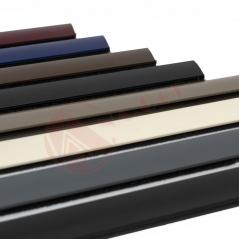 Extenso catalogo de colores