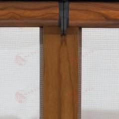 Detalle unión cabezales |  Enrollable Doble