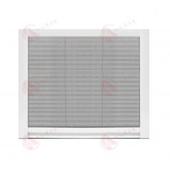 Mosquitera plisada para ventanas con espacios reducidos