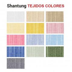 Tejidos colores traslúcidos Shantung | Anacor