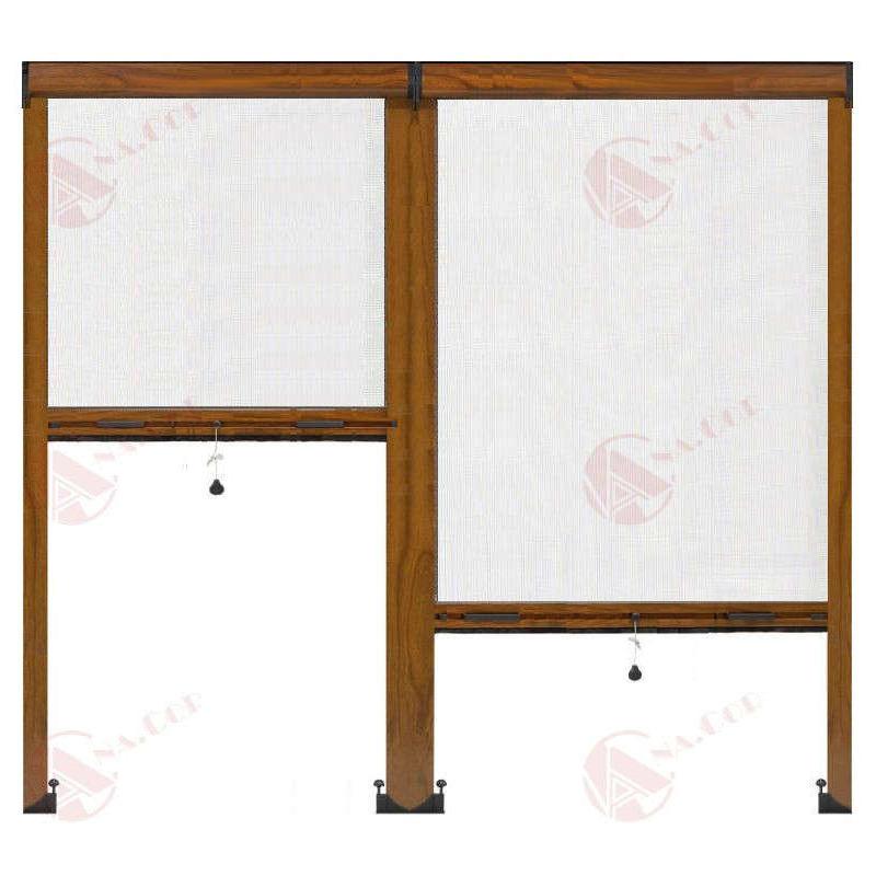 Mosquitera enrollable vertical de doble cabezal | MosquiterasAnacor