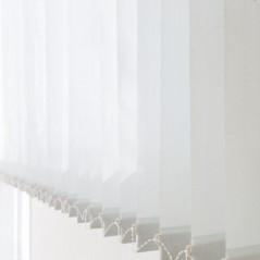 Lamas verticales traslúcidas por raíles | Anacor