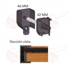 Mosquitera sistema sin tornillos AUP | Mosquiteras Anacor