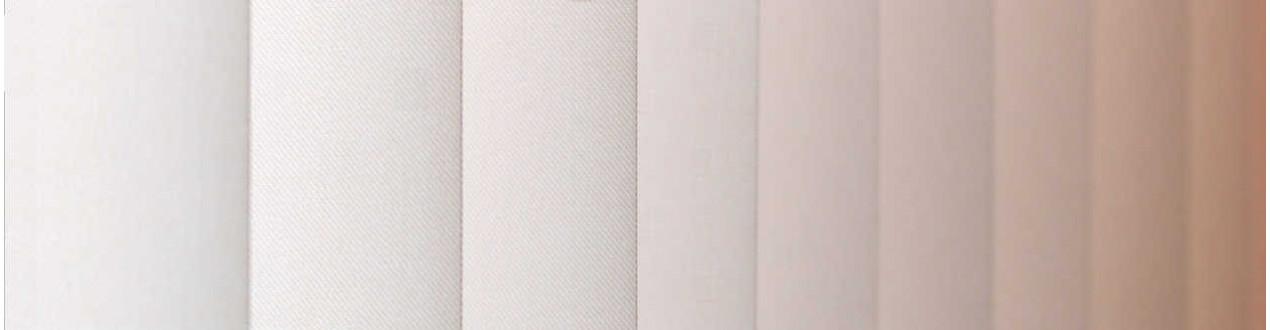 Cortinas verticales de lamas screen fabricadas a medida | Anacor