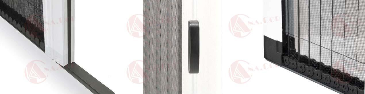 Mosquiteras Plisadas para Ventanas  y Puertas | MosquiterasAnacor