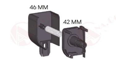 Medidas cabezal sin tornillos AUP   MosquiterasAnacor